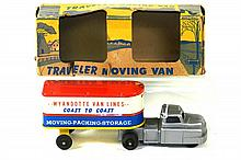 WYANDOTTE TRAVELER MOVING VAN W/BOX