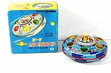 JAPANESE X-7 SPACE EXPLORER SHIP W/BOX