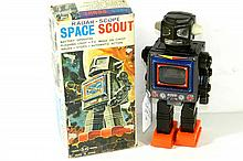 JAPANESE RADAR-SCOPE SPACE SCOUT W/BOX