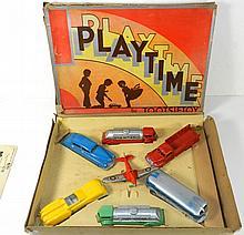 TOOTSIETOY PLAYTIME SET W/BOX