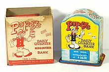 KALON POPEYE DAILY QUARTER BANK W/BOX