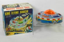 JAPANESE KING FLYING SAUCER W/BOX