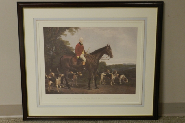 C.G. Louis English Hunt Scene Lithograph