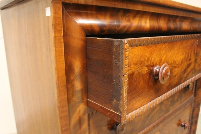 Mid 19th Crouched Mahogany Chest
