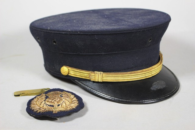 ca 1930's Officer's Hat by Fred M. Batchelder Co.