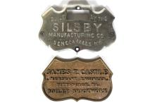 Silsby Manuf. Co. and James T. Castle Shield Plaques