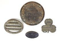 Four Early 20th Century Industrial Builder's Plates