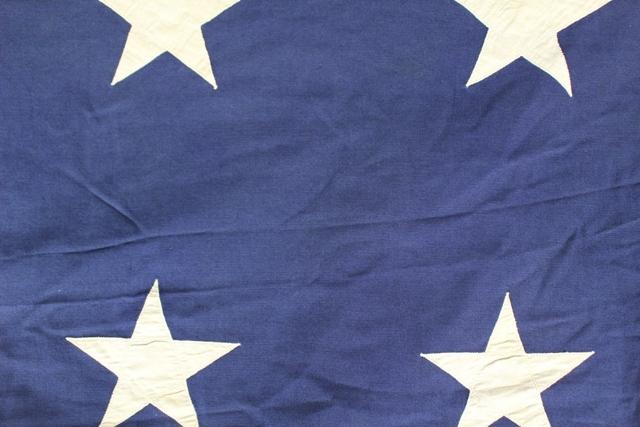 Large WWII 48 Star Naval Jack Flag