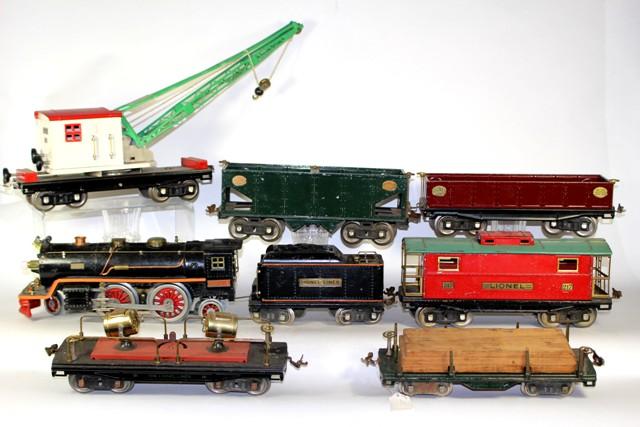 Lionel No. 8E & No. 38 Locomotive and Freight Set