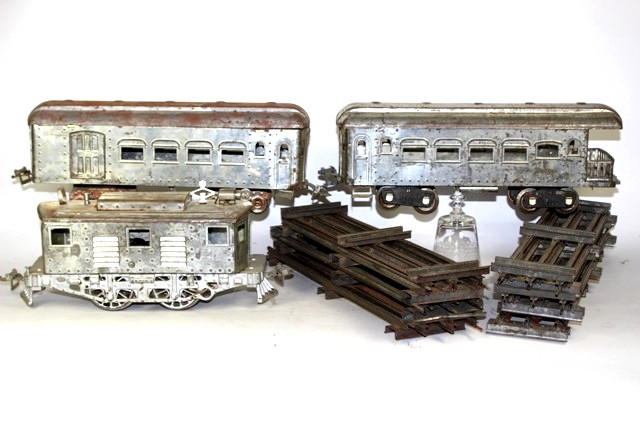 Vintage Standard Gauge Locomotive and Cars Set