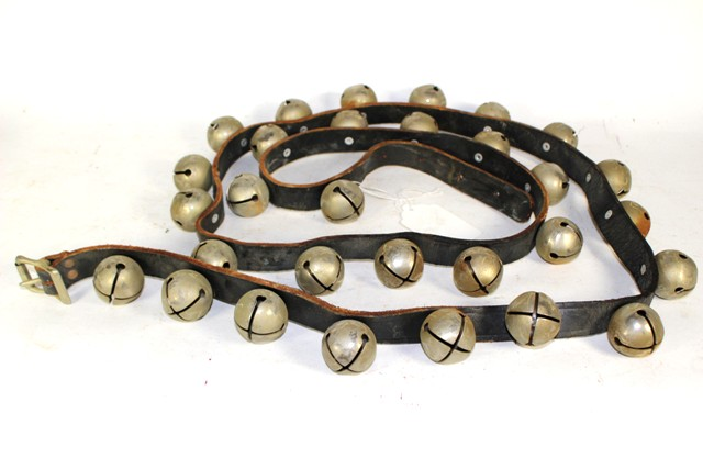 20th Century Sleigh Bells on Leather Strap