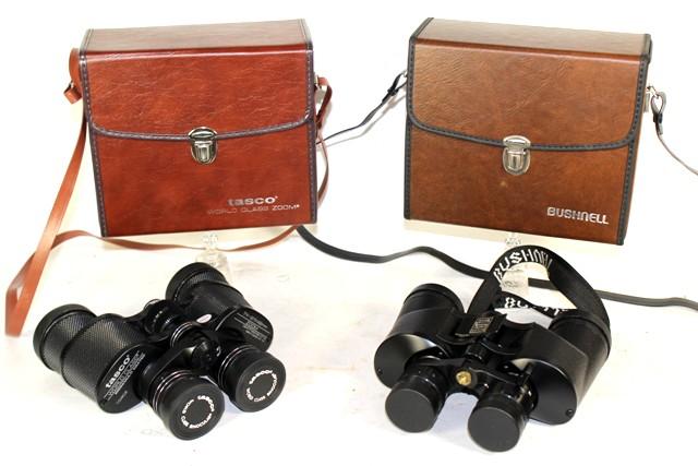 Tasco T-18290 and Banner by Bushnell Binoculars