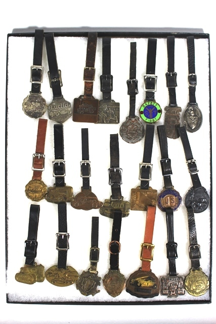 Collection of 22 Assorted Watch Fobs