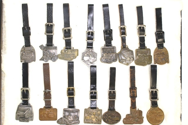 15 Tractor Related Watch Fobs