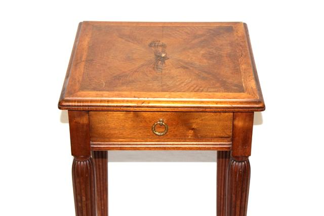 20th Century Mahogany One Drawer Stand