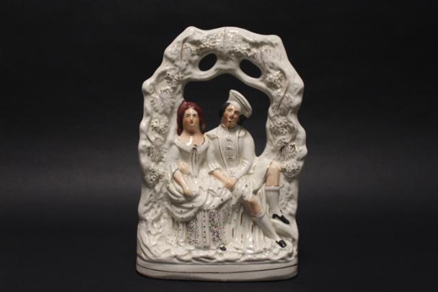 19th Century Staffordshire Highland Couple