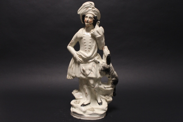 19th Century Staffordshire Figural Prince Charles