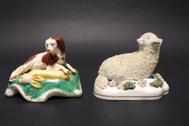 Two 19th Century Staffordshire Figural Groups