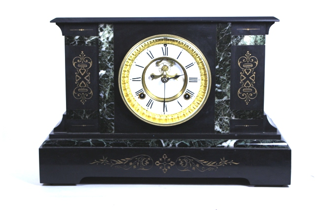 1880's Waterbury Open Escapement Mantle Clock