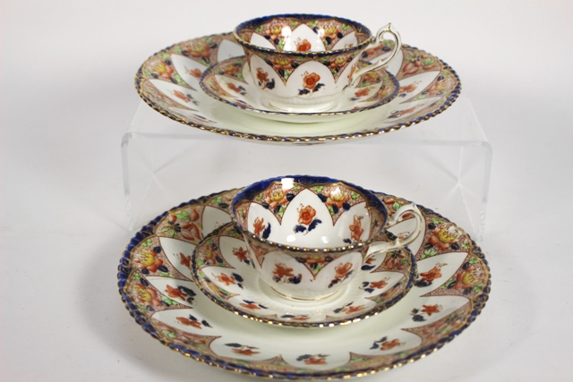 Samuel Radford Porcelain Pieces in Lotus Pattern