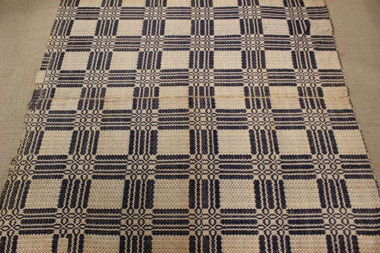 19th Century Country Primitive Coverlet