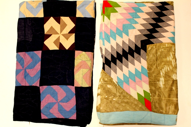 Two Early 20th Century Ohio Region Amish Made Quilts