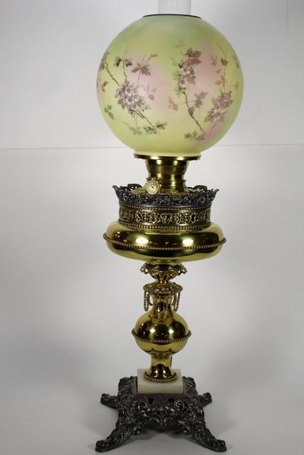 Vintage Ornate Banquet Lamp