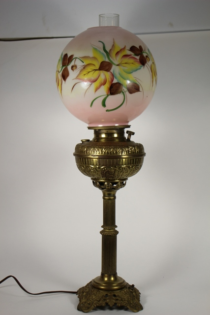 The Pittsburgh Electrified Banquet Lamp
