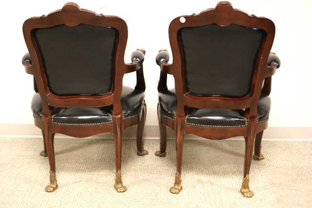 Pair Of Early 20th Century Banker 39 S Chairs