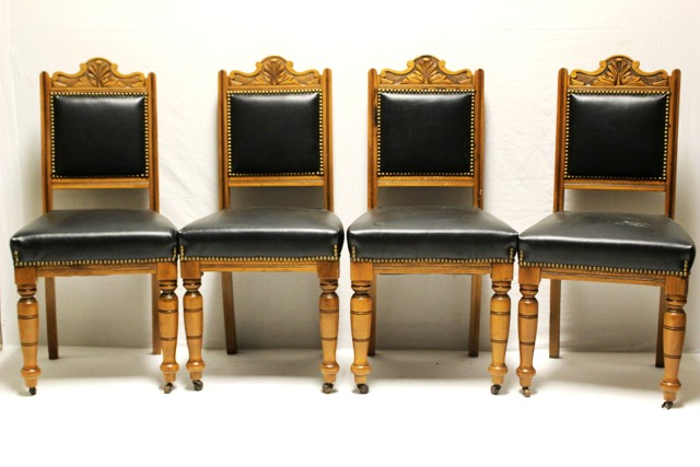 Set Of Four 19th Century Dining Chairs
