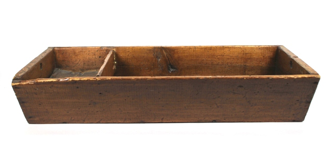 Late 19th Century Pine Work or Utility Tote