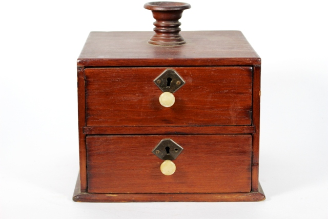 19th Century Spice Box
