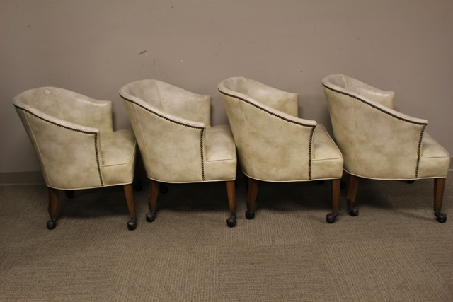 Set Of Four 1950 39 S Barrel Back Chairs