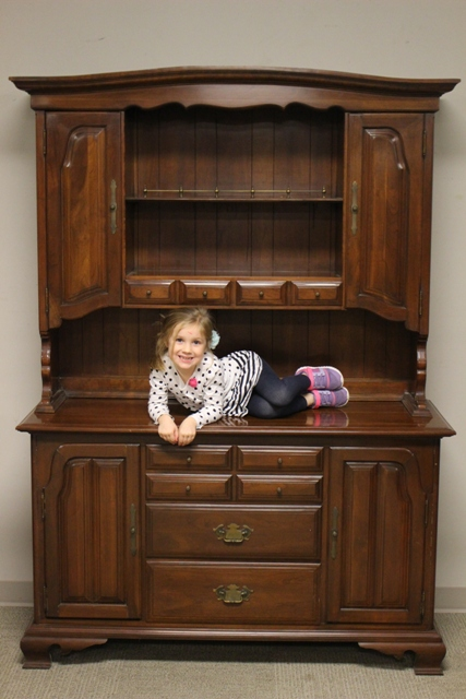 Cherry Willet Furniture Co. Hutch