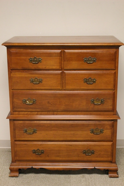 Monitor Furniture Co. Solid Cherry Chest of Drawers