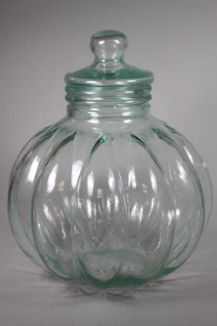 Large Italian Apothecary Lidded Jar