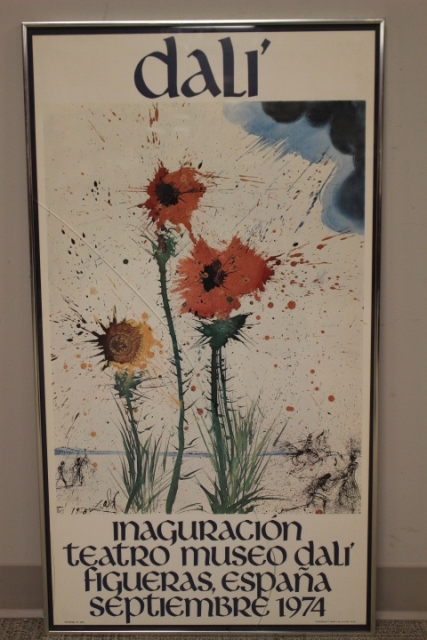 Salvador Dali (1904-1989) Inaguracion Teatro Poster
