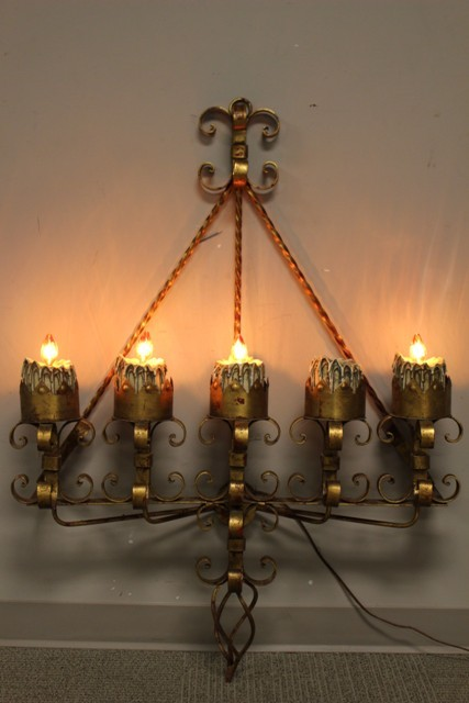 Gothic Castle Electrified Wall Sconces