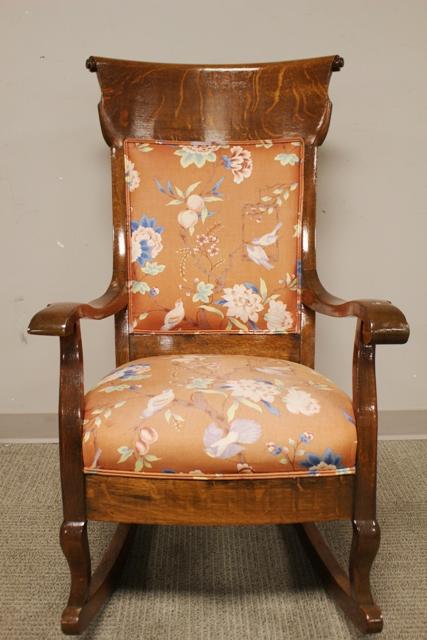 Quartersawn Oak Rocking Chair