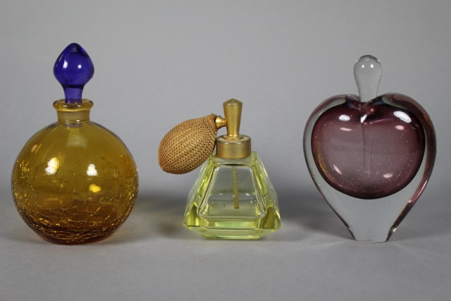 Collection of Three Assorted Perfume Bottles