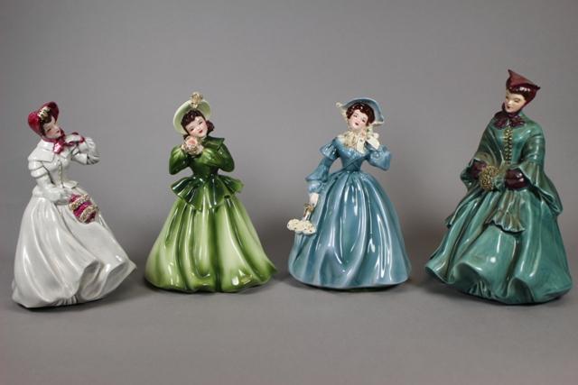 Florence Ceramics Clarissa, Louise & Camille Figurines