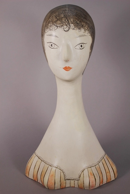 Early 20th Century Female Head Model