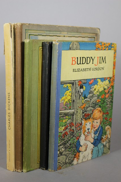Authors Holbrook, Dickens, and Gordon Vintage Books