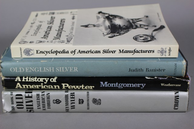English and American Silver and Pewter Reference Books