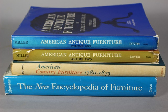 Four American Antique Furniture Reference Books