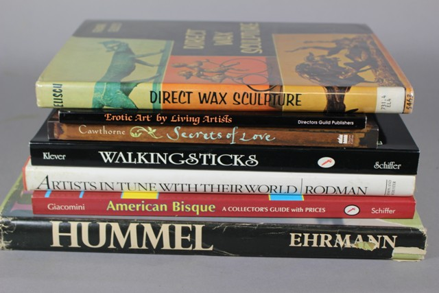 Assorted Art Reference Books and More