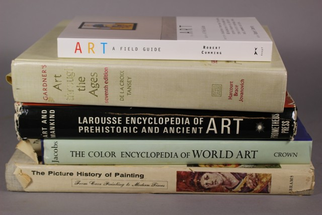 Five General Art Reference Books