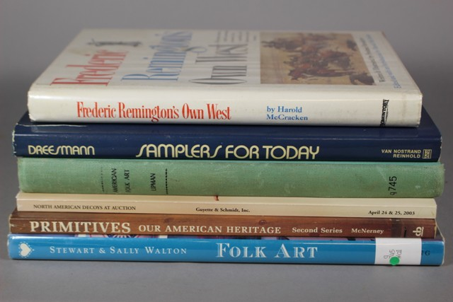 Americana Artwork and Furniture Reference Books
