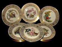 Lenox Edward Marshall Boehm Collector Plates