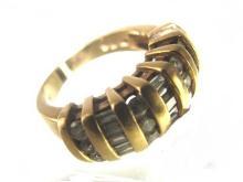 14kt. Yellow Gold & Diamond Ring 8.1 Grams